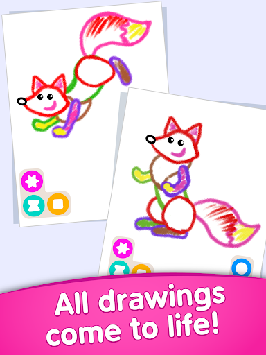 Toddler coloring apps for kids! Drawing games! screenshots 19
