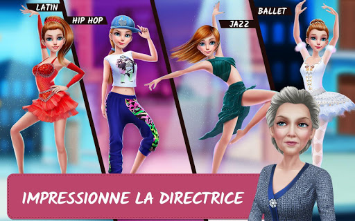 Histoires d'école de danse – Du rêve à la réalité APK MOD (Astuce) screenshots 3