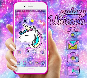 Galaxy Unicorn Shiny Glitter For Pc (Free Download – Windows 10/8/7 And Mac) 1
