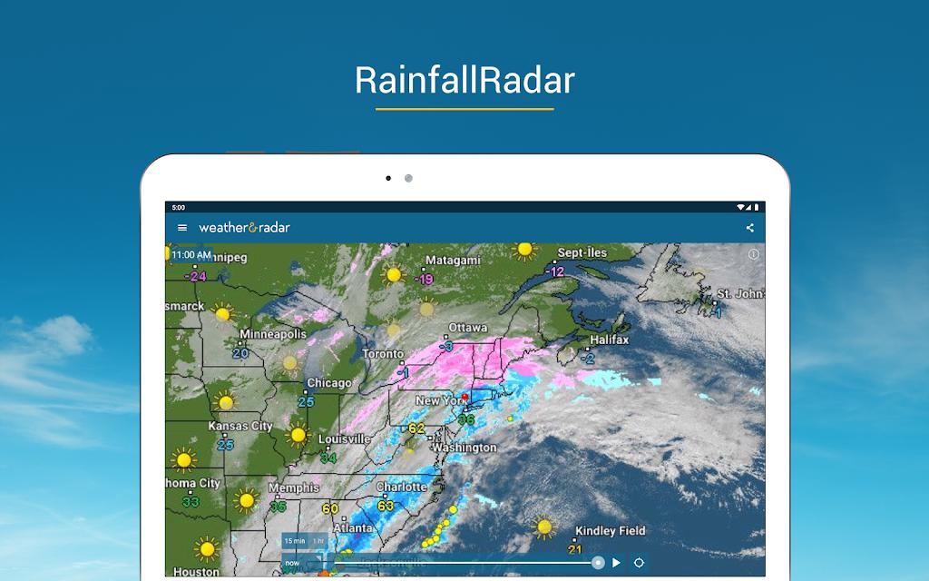 Weather & Radar USA - Storm alerts - ad free  poster 9