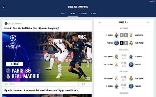 RMC Sport News - Actu Foot et Sports en direct 5.0.2 Screenshots 10