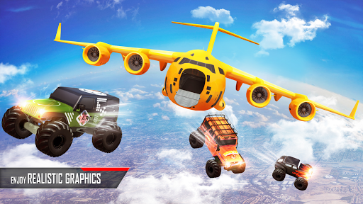Monster Truck Game: Impossible Car Stunts 3D  screenshots 2