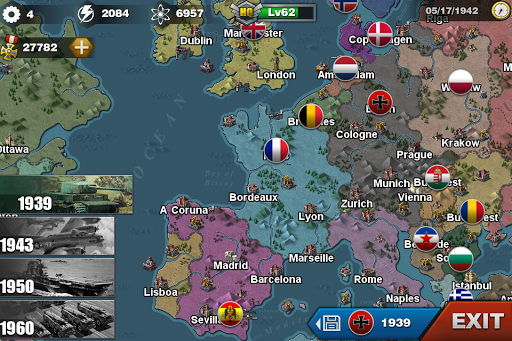 World Conqueror 3  - WW2  Strategy game  screenshots 3