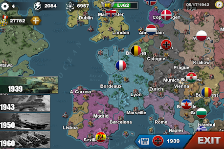 World Conqueror 3 – WW2 Strategy game 1.2.32 Apk + Mod 3