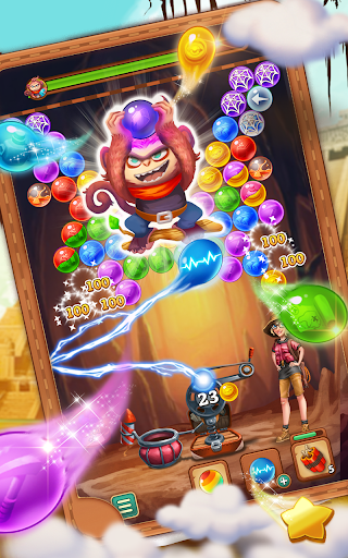 Bubble Journey -  Bubble shooter & Adventure story android2mod screenshots 9