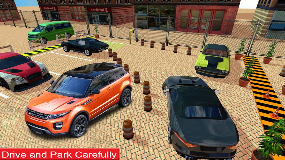Extreme Car Drive Parking Game 2021-Free Car Games screenshot 3
