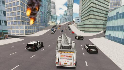 Fire Truck Driving Simulator 1.34 Screenshots 8