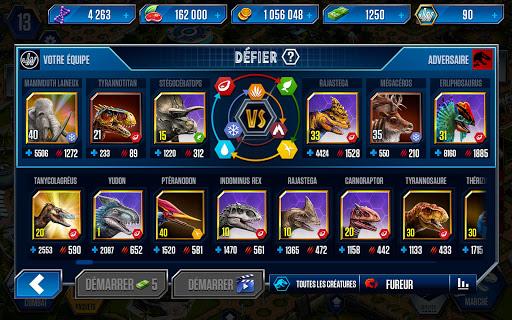 Code Triche Jurassic World™: le jeu (Astuce) APK MOD screenshots 6