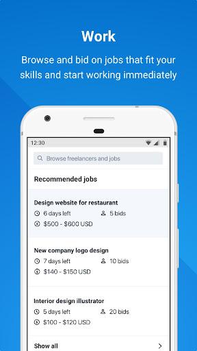 Freelancer - Hire & Find Jobs 3.16.4 Screenshots 2