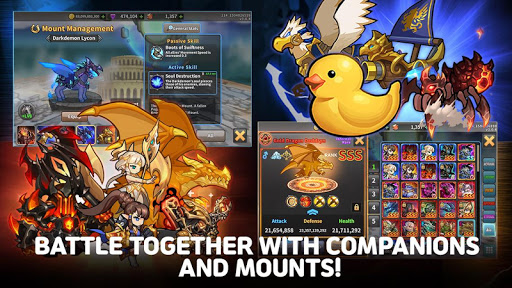 Raid the Dungeon : Idle RPG Heroes AFK or Tap Tap apkmr screenshots 21
