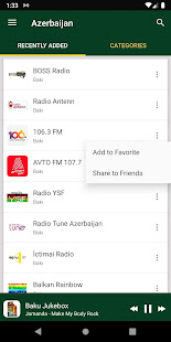 Azerbaijan Radio Stations