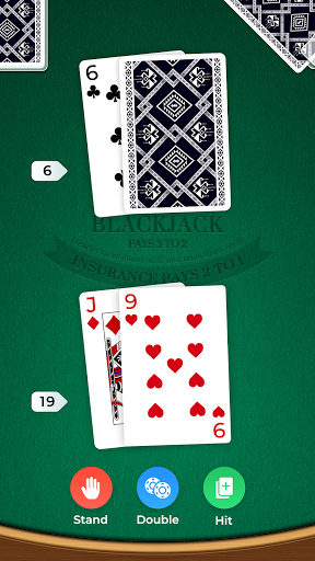 Blackjack 1.1.6 screenshots 2