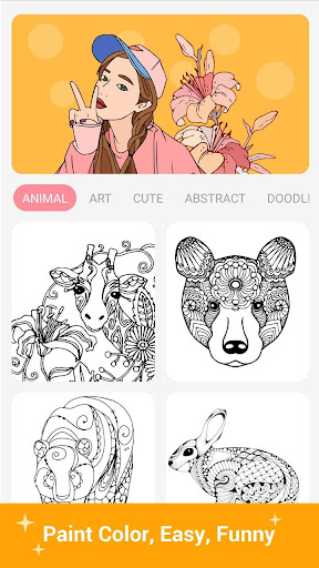 Paint Color - Paint color by number, coloring book Latest screenshots 1