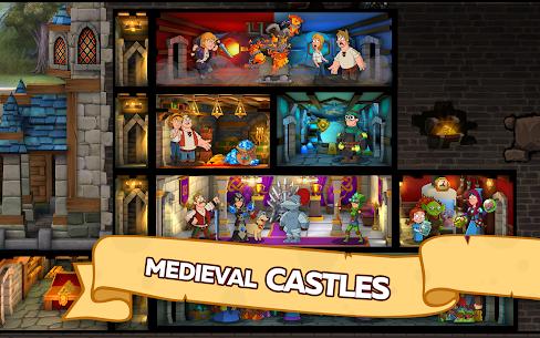 Hustle Castle Medieval Games In The Kingdom Kale ve Klan Kazanma Hileli Apk Güncel 2021** 5