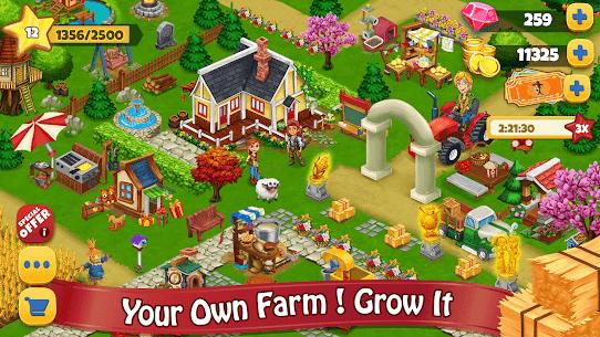 Farm Day Village Farming  Offline Games Apk 1