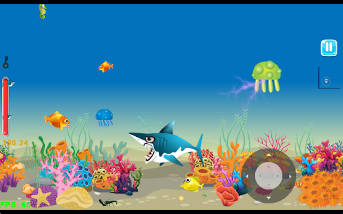 Shark Journey: Hungry Big Fish Eat Small and grow 9