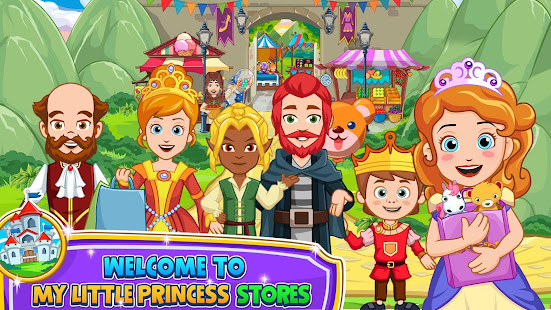 My Little Princess: Shops & Stores doll house Game  screenshots 1