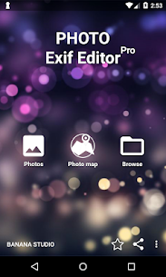 Photo Exif Editor Pro – Metadata Editor 2.2.9 MOD for Android 1