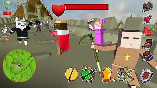Code Triche Lord Hau!- Medival Pixel Battle Royale apk mod screenshots 2