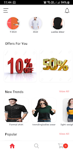 Ecommerce Textile 1.0.1 APK + Мод (Unlimited money) за Android