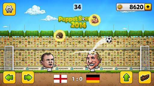 u26bdPuppet Soccer 2014 - Big Head Football ud83cudfc6  screenshots 2