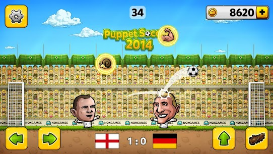 Puppet Soccer 2014 – Big Head Football Mod Apk 3.0.4 (Unlimited Money) 2