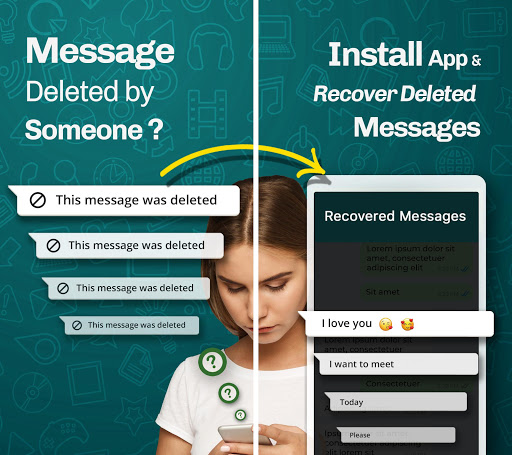 WhatsDeleted: Recover Deleted Messages 19.0 Screenshots 1