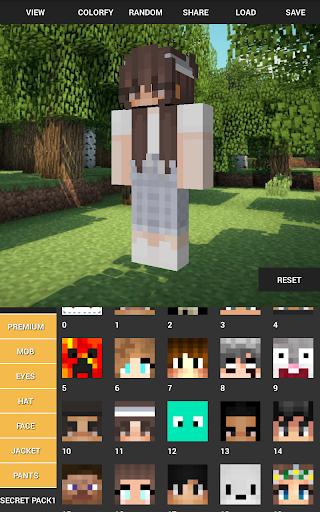 Custom Skin Creator For Minecraft apktram screenshots 10