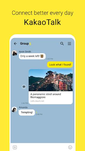 KakaoTalk: Free Calls & Text 9.0.7 Screenshots 1