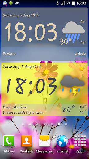 Weather ACE Clock Widget Pack For PC Windows (7, 8, 10, 10X) & Mac Computer Image Number- 5