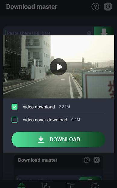 Captura de Pantalla 7 de Video Downloader Master para redes sociales para android