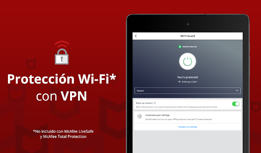 Mobile Security: Proxy VPN y WiFi segura antirrobo Screenshot
