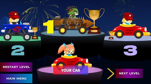 Code Triche Mini Fun Climb Race - Platform Car Racing Games (Astuce) APK MOD screenshots 1