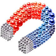 Magnetic Balls Color By Number - Magnet Bubbles