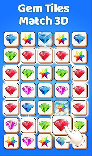 Gem Match 3d - Perfect Tile Matching Games 2020  screenshots 1
