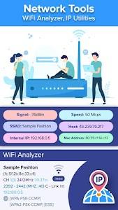 Network Tools: WiFi Analyzer, IP Utilities 1.4 (Pro)