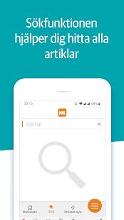 HBL Nyheter Screenshot