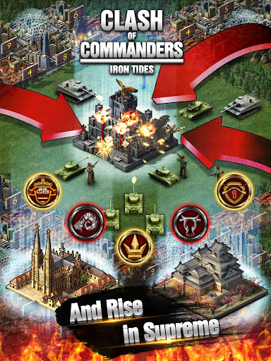 Clash of Commanders-Iron Tides 1.8.4 screenshots 14