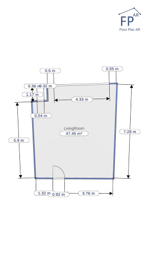 Floor Plan AR   Room Measurement 12.7 Screenshots 12