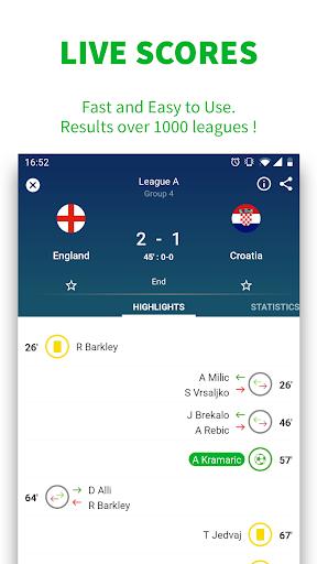 SKORES - Live Football Scores 3.7.6 Screenshots 2