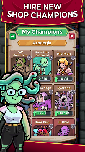 Dungeon Shop Tycoon: Craft and Idle modavailable screenshots 3