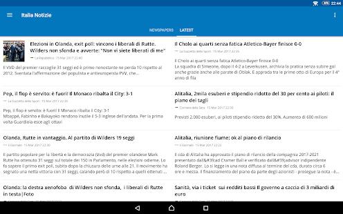Italia News | Italia Notizie 7.2.1 Screenshots 23