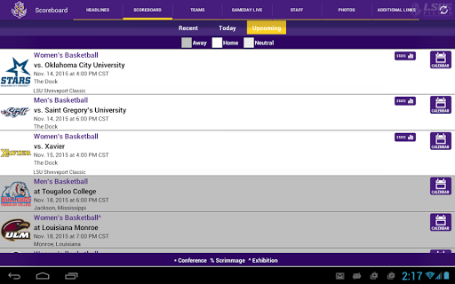 LSU Shreveport Athletics For PC Windows (7, 8, 10, 10X) & Mac Computer Image Number- 11