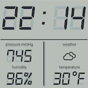 LCD talking night clock