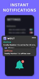WOLT – Online & Last Seen Tracker for Families 4