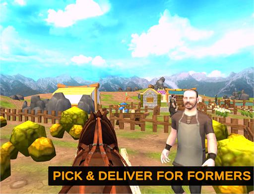 Horse Cart Offroad Farming Transport Simulator 1.2 screenshots 9