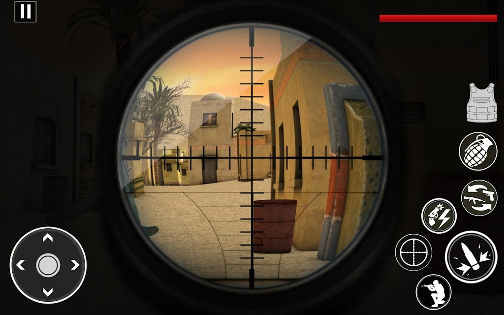Commando Assassin Strike:World War Pacific Shooter  poster 1