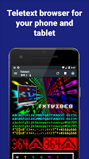 TxtVideo Teletext Screenshot
