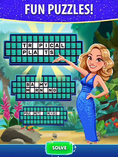 Bubble Pop: Wheel of Fortune! Puzzle Word Shooter  screenshots 13