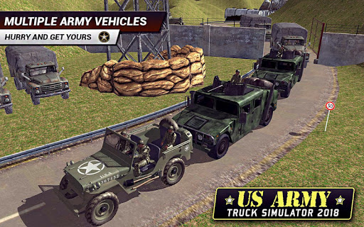 US Army Truck Driving 2018: Real Military Truck 3D apkpoly screenshots 4